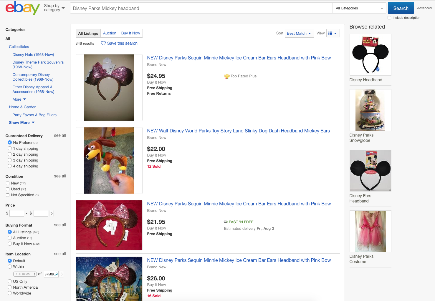 Where To Buy Mickey Ears Online - Ebay Mickey Ears