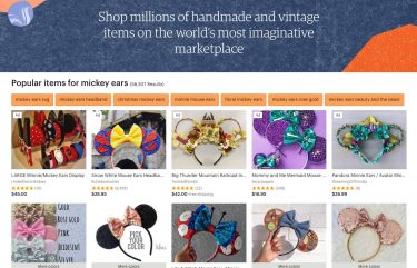 Where to buy mickey ears online - Etsy