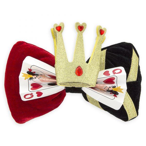 disney bows alice in wonderland queen of hearts bow 01
