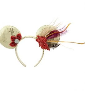 disney mickey ears 1920s flapper minnie sequined ears 01