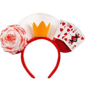 disney mickey ears alice in wonderland queen of hearts ears 01