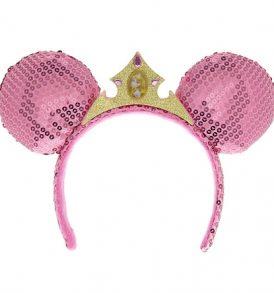disney mickey ears aurora tiara sequined ears 01