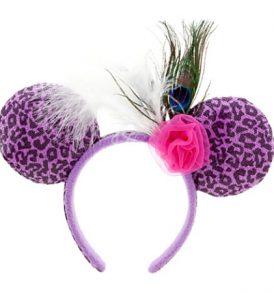 disney mickey ears cheetah animal print flower ears 01