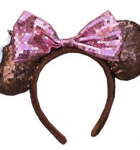 disney mickey ears chocolate icecream sequined ears 01