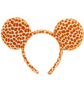 disney mickey ears giraffe animal print ears 01