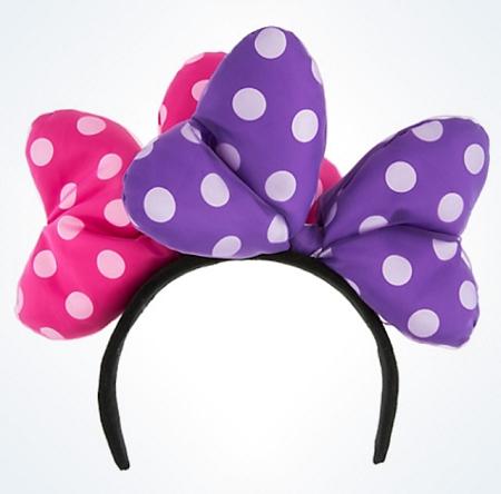 disney mickey ears minnie mouse double bow ears 01