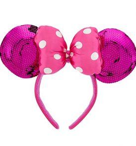 disney mickey ears pink sequined ears 01