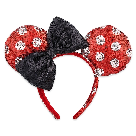 disney mickey ears polka dot sequined ears 01