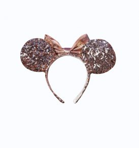 disney mickey ears rose gold sequined ears 02