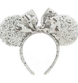 disney mickey ears silver sequined ears 01