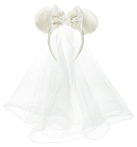 disney mickey ears wedding veil ears 01
