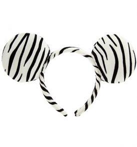 disney mickey ears zeebra animal print ears 01
