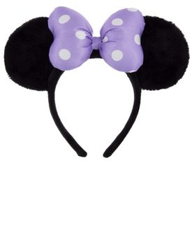Soft & Fuzzy Mickey Ears
