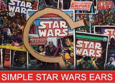 simple star wars mickey ears - my mickey ears
