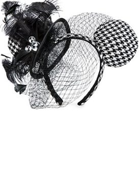 Veiled or Laced Mickey Ears