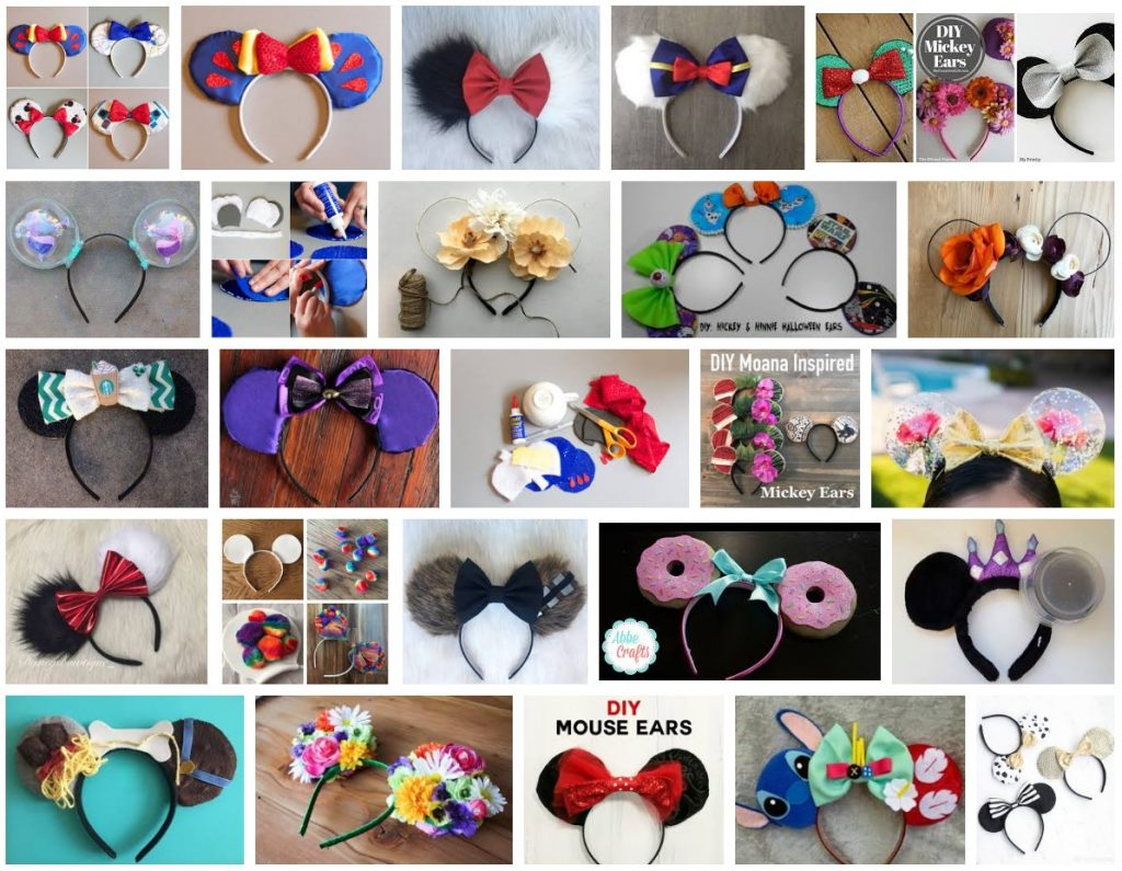 Diy Mickey Ears Inspiration My Mickey Ears