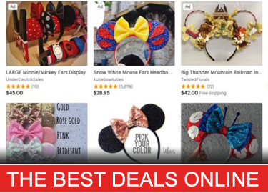 Mickey Ears Deals Online